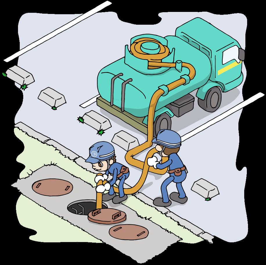 浄化槽 清掃・管理